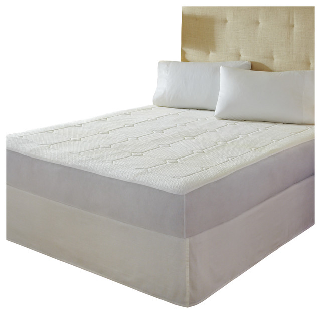 Pure Rest Premier Quilted Memory Foam Mattress Pad Twin