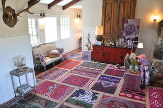 Layering Rugs By Designer Tracy Porter For Poetic
