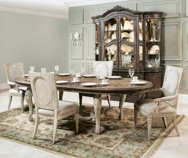Jessica Mcclintock Dining Room Furniture: American Drew Jessica McClintock Boutique 6 Piece Oval