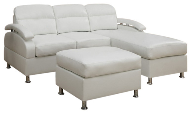 3 piece cream bonded leather sectional sofa chaise and for 3 piece leather sectional sofa with chaise