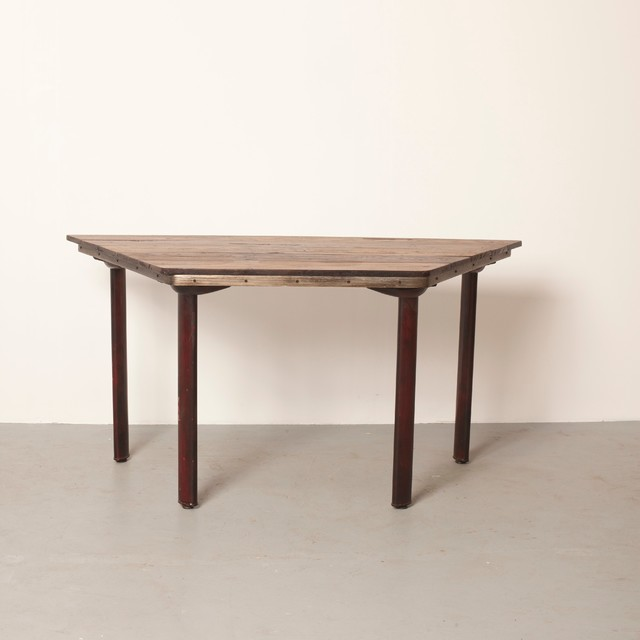 vintage tables industrial dining tables los angeles by style