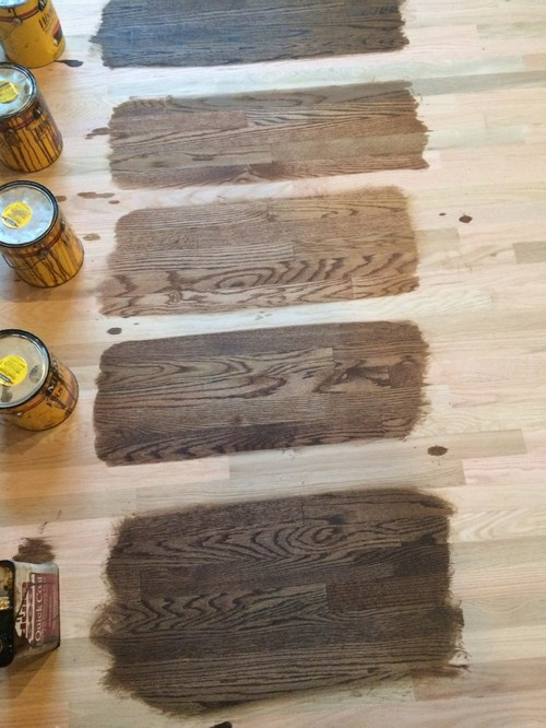 Need To Choose A Stain By Tomorrow For Red Oak Floors