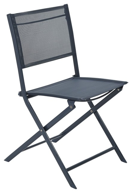 Saba Bistro Chair Contemporary Folding Garden Chairs other metro by B