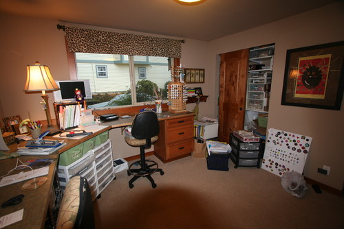 Craft Room Office Layout