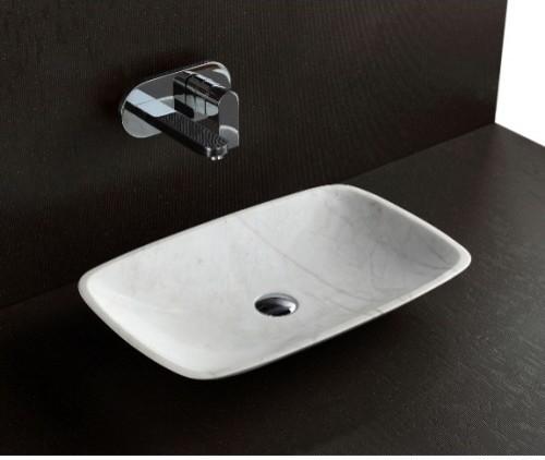 ... White Stone Basin - Modern - Bathroom Sinks - brisbane - by Nova Deko