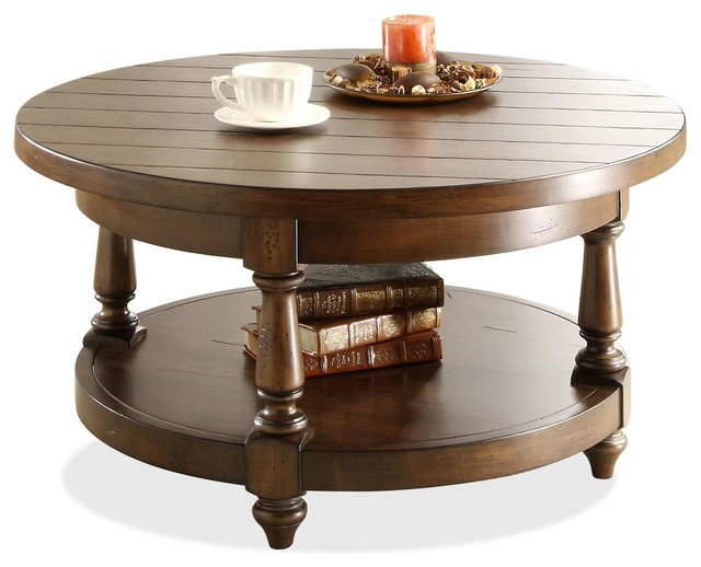Arlo Round Cocktail Table Coffee Tables Los Angeles By Living Spaces