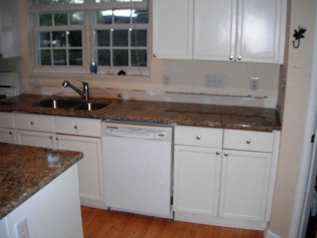 8 20 12 new venetian gold granite with white cabinets