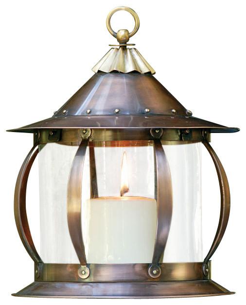 San Simon Copper Lantern Industrial Outdoor Lighting