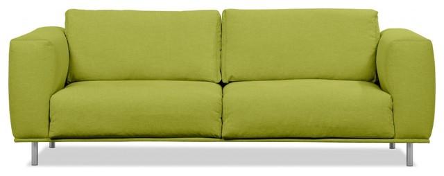 3 sitzer sofa liberty gr n modern sofas by. Black Bedroom Furniture Sets. Home Design Ideas