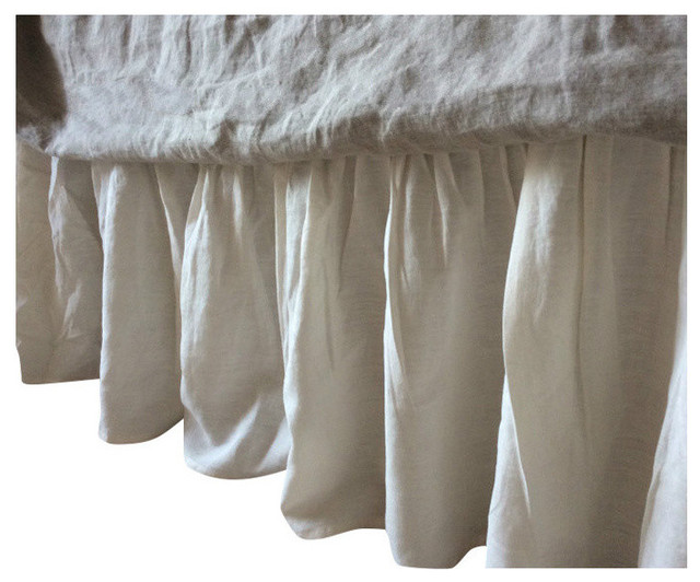 Cream Bed Skirt 103