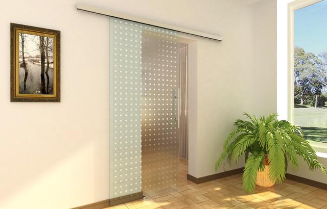 Modern barn door hardware for glass door modern - Modern interior barn doors ...