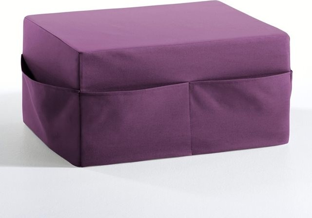 pouf d houssable enfant confort mousse meeting contemporain repose pieds pouf et cube. Black Bedroom Furniture Sets. Home Design Ideas