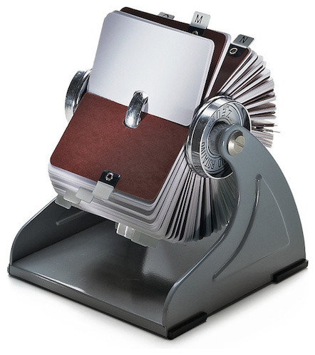 Zeuss Index Card Holder - Traditional - Desk Accessories - by ...