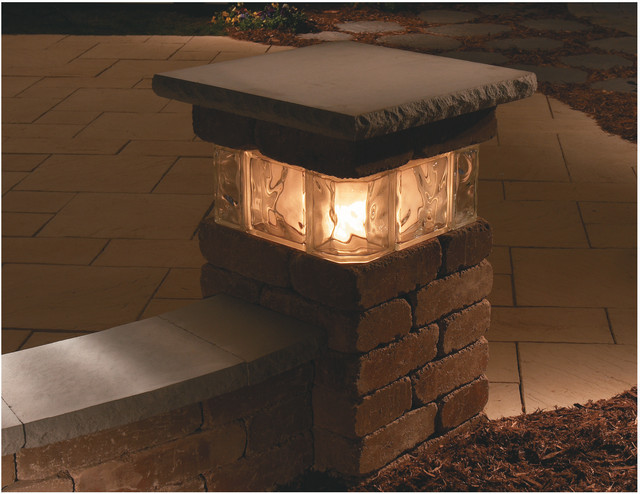 20 Quot Pillar Kit With Glass Necessories ― Outdoor Living