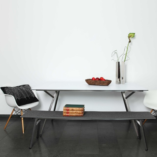 egon tisch in edelstahl modern dining tables by. Black Bedroom Furniture Sets. Home Design Ideas