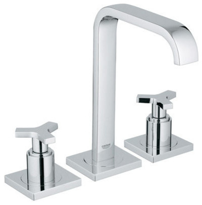 grohe 20 148 allure widespread bathroom faucet modern
