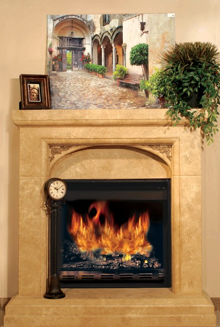 Stone Mountain Castings Fireplace Mantels Traditional Salt Lake City By Stone Mountain