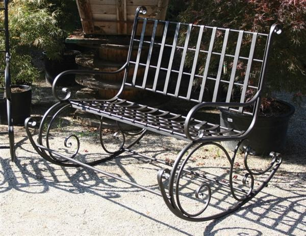 Garden Rocker for Two Victorian Outdoor Rocking Chairs kansas city by