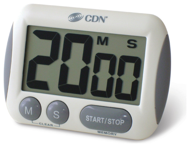 Extra Big Digit Timer Contemporary Kitchen Timers By Cdn Portland Or
