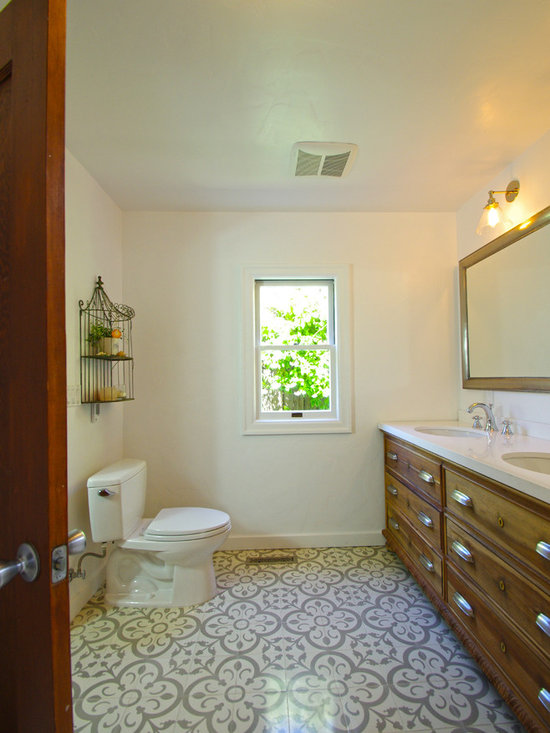 spanish style bathroom home design photos