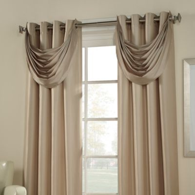 Argentina Room Darkening Waterfall Valance Contemporary