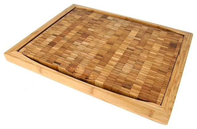 Curtis Stone Flipper Bamboo Cutting Board Modern Cutting Boards By Roland
