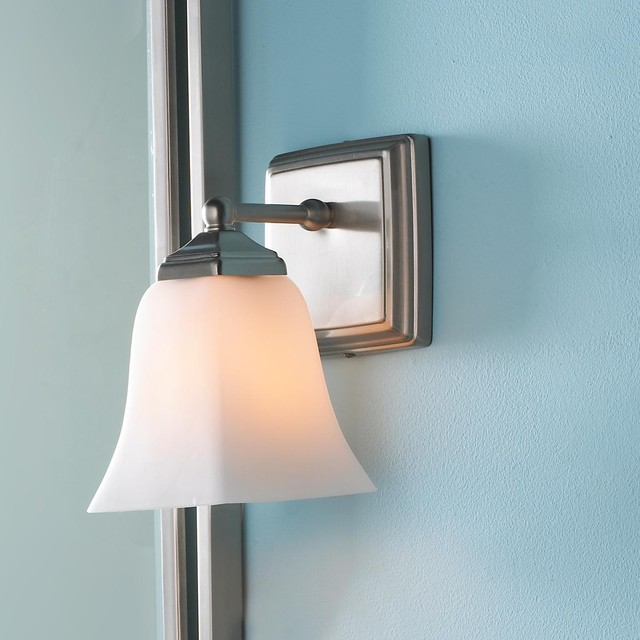 Bathroom Wall Sconces With Shades : Simplex Chic Bath Sconce - Wall Sconces - by Shades of Light