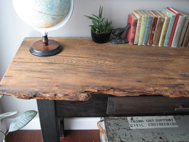 Rustic Console Table Eclectic Buffets And Sideboards