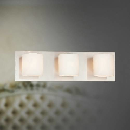 Eurofase 20379-018 Geos 3 Light Bathroom Vanity in Satin Nickel 20379-018 - Modern - Ceiling ...
