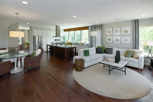 Expert Tips To Help You Decorate That Tricky Open Floor Plan - Open floor plan