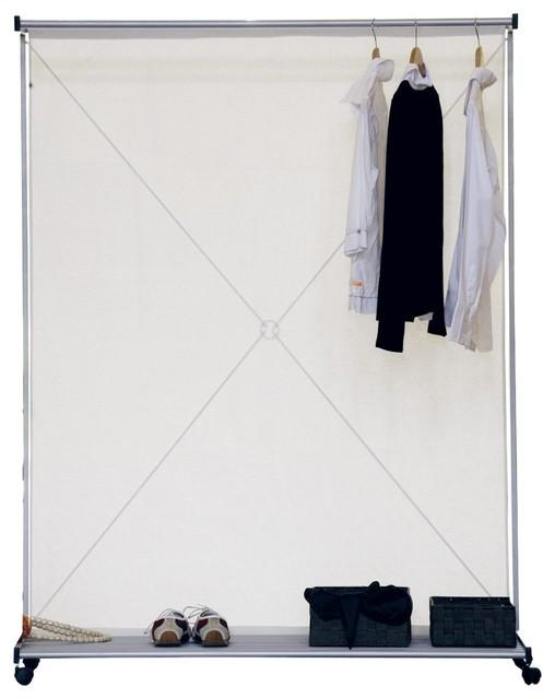 Hang up garderobe raumteiler modern raumteiler for Garderobe ikarus