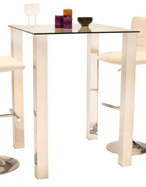 mezzi bar table contemporary indoor bistro sets. Black Bedroom Furniture Sets. Home Design Ideas