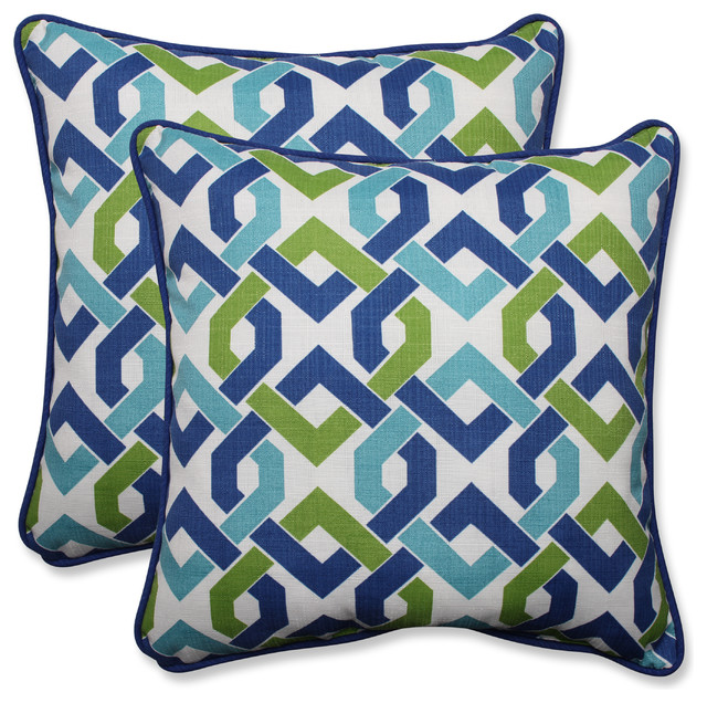 Patterned Outdoor Throw Pillows 24