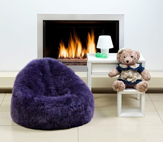 Sheepskin Bean Bag Chairs Contemporary Other Metro By Ultimate Sheepskin