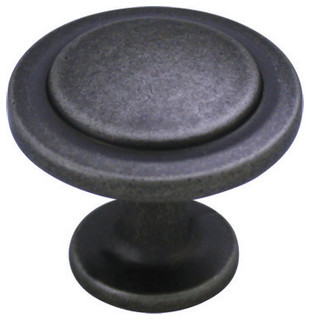 Cosmas 5560 Cabinet Knob, Weathered Nickel - Traditional - Cabinet And ...