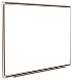Magnetic Whiteboard with Black Trim (72 in. W x 3.5 in. D ...