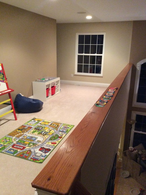 Loft Area Playroom Ideas