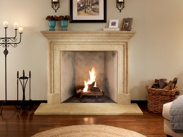 The Bryant Fireplace Surround Traditional Fireplaces By Eldorado