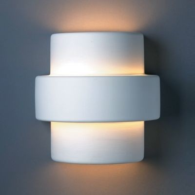 Justice Design Group Wall Sconces : Step Wall Sconce by Justice Design Group - Wall Sconces - by Lumens