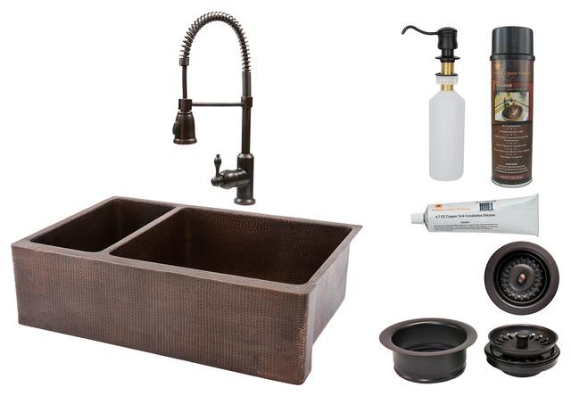 Double Basin Apron Sink : 33