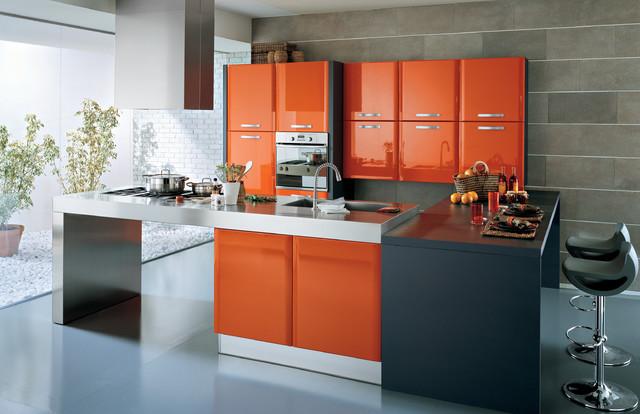Venere Modern Kitchen San Diego By Italian Kitchen Cabinets In San Diego