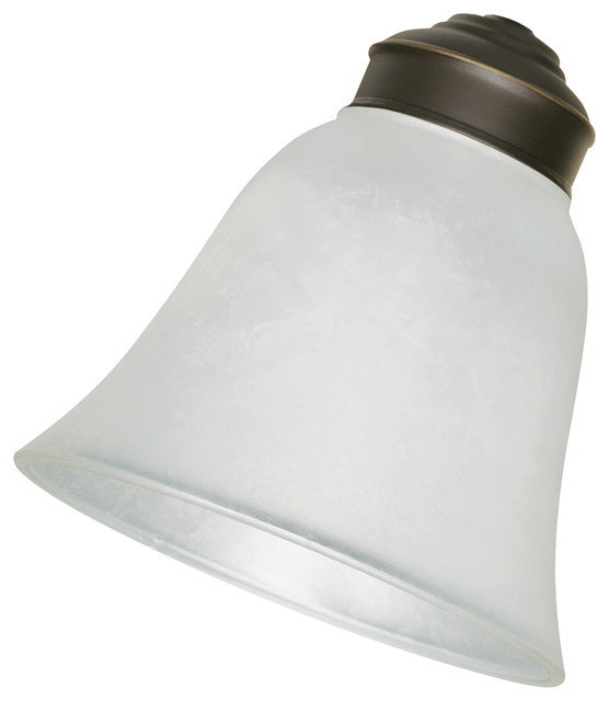 Emerson Fans G18 Frosted Ice Replacement Glass - Contemporary - Lighting Globes And Shades - by ...