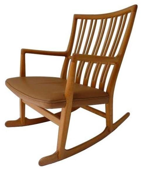 Hans Wegner 1942 ML-33 Rocking Chair - Modern - Living Room Chairs ...