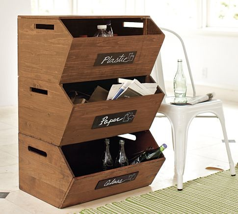 pottery barn storage bins 2