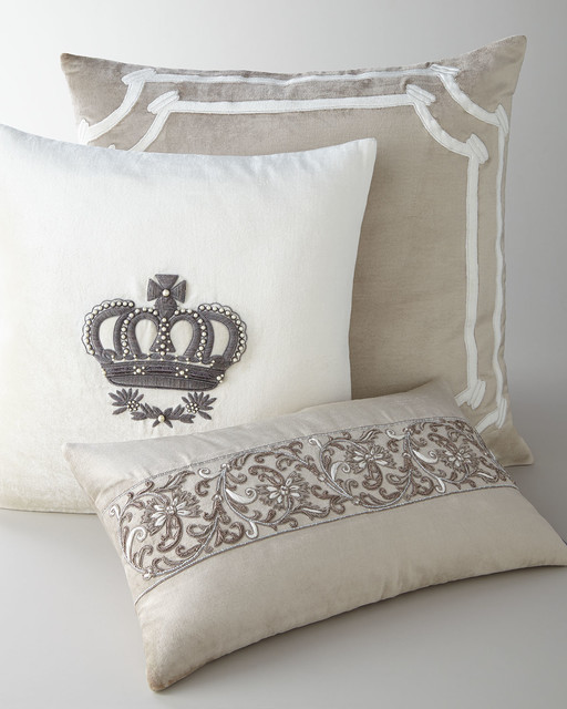 Artisan-Crafted Pillows - Decorative Pillows - by Horchow