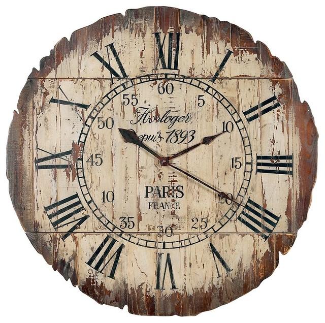 horloge bois paris pliable moderne horloge murale. Black Bedroom Furniture Sets. Home Design Ideas