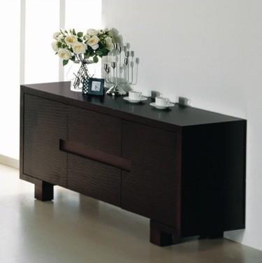 Bh design etch buffet sideboard wenge moderno buffet - Mobili buffet moderni ...
