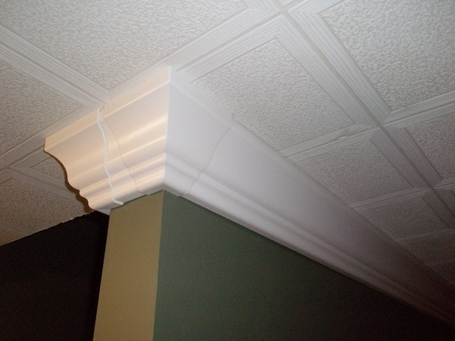 raceway crown molding hides cables and wires contemporary cable management. Black Bedroom Furniture Sets. Home Design Ideas