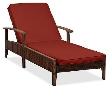 Palmetto sunbrella r single chaise cushion slipcover for Chaise cushion slipcover