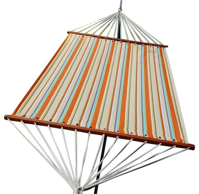 Algoma net company 2879dp 13 39 fabric hammock orange for Fabric hammock chair swing